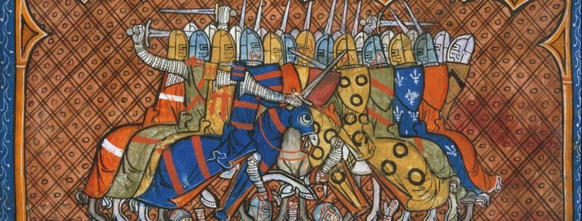 combat de cavallers